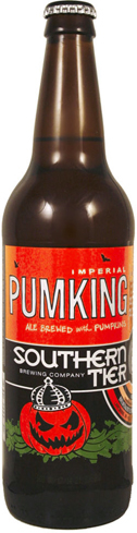Southern Tier Brewing Company Pumking is brewed with pumpkin and cooking spices