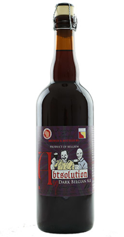 Abtsolution Dark Belgian Ale is a fine sipping beer