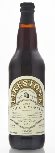 Firestone Walker Stickee Monkee puts a Central California spin on the Belgian-style quadrupel