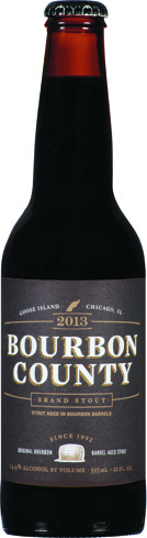 Goose Island Bourbon County Stout was crafted in honor of the brewery's 1000th batch of beer