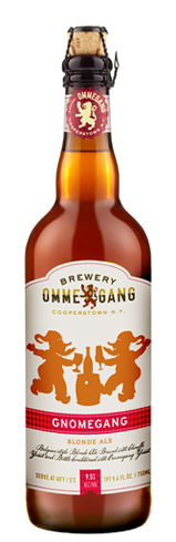Ommegang Gnomegang contains fruity, spicy yeast