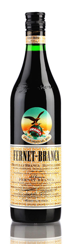 Fernet-Branca is made from the same secret recipe as the original in 1845