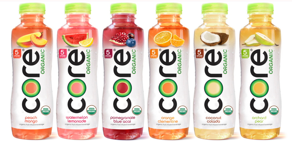 Each CORE Organic flavor is 5 calories per serving, low glycemic and non-GMO.