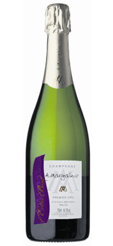 Champagne A. Margaine Extra Brut has notes of pear and green apple