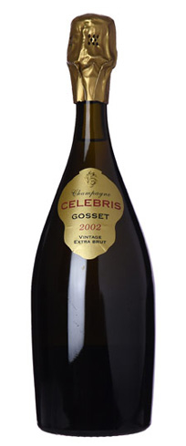 Champagne Gosset 2002 Celebris Extra Brut has vibrant aromas of lilac and violet