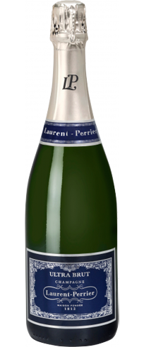 Champagne Laurent-Perrier Ultra Brut boasts intense aromas of citrus, peach and honeysuckle