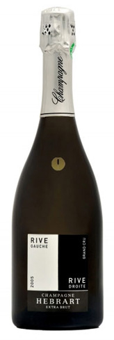 Champagne Marc Hébrart 2008 Rive Gauche Rive Droite Grand Cru Extra Brut boasts flavors of golden currant, apricot and apple