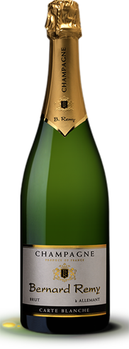 Champagne Bernard Remy Carte Blanche presents a lively palate of honey, lemon and a hint of mint