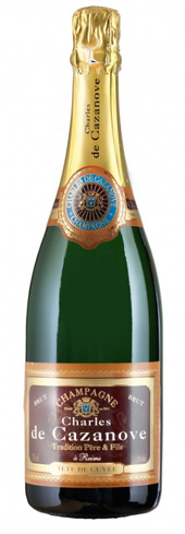 Champagne Charles de Cazanove Tradition Brut offers baked apple flavors