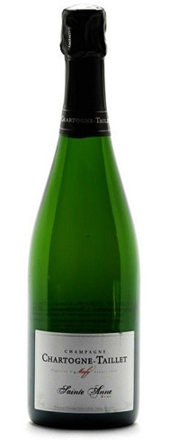Champagne Chartogne-Taillet Cuvée Sainte Anne Brut has crisp flavors of pear and melon