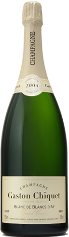 Champagne Gaston Chiquet 2005 Blanc de Blancs d'Ay Brut Grand Cru has flavors of fresh citrus and honey