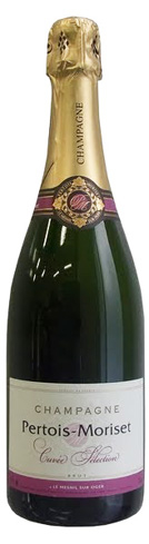 Champagne Pertois-Moriset Cuvée Selection Brut is made of equal parts Chardonnay and Pinot Noir