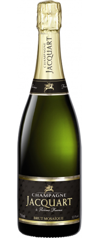 Champagne Jacquart Brut Mosaique is a blend of crus, aromas and flavors