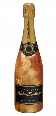 Champagne Nicolas Feuillatte Land of Wonders Brut Reserve has fresh aromas of pear, apple and peach