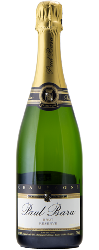 Champagne Paul Bara Brut Reserve Grand Cru displays aromas of lemon, blood orange and red currant