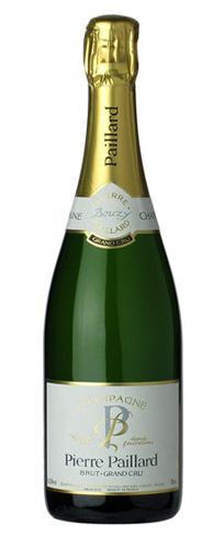 Champagne Pierre Paillard Brut Grand Cru is a blend of two vintage Brut Grand Crus