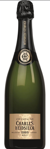 Champagne Charles Heidsieck 2005 Millésime has flavors of apricot, date and toasted almond