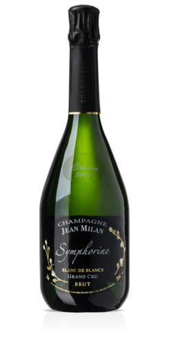 Champagne Jean Milan 2009 Symphorine Grand Cru has flavors of citrus and white fruit