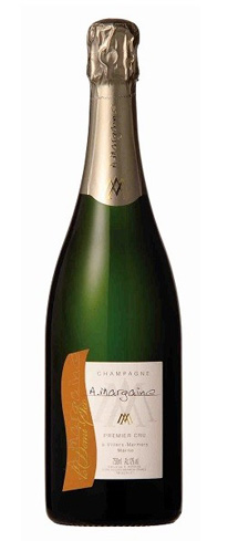 Champagne A. Margaine Demi-Sec has flavors of peach, plum and hazelnut