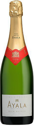 Champagne Ayala Rich Majeur boasts flavors of apple, lemon and custard