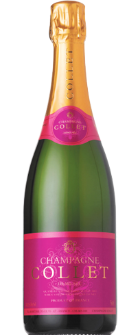 Champagne Collet Demi-Sec offers earthy aromas of date and fig