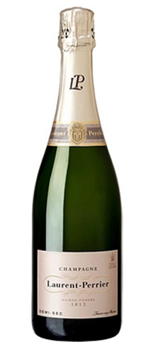 Champagne Laurent-Perrier Demi-Sec has a signature fresh, light and elegant style
