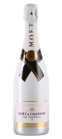 Champagne Moët & Chandon has created the first sparkling wine meant to be served on ice