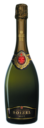 Champagne Boizel 2000 Joyau de France offers an intense bouquet of pineapple, apricot and freshly baked pastries