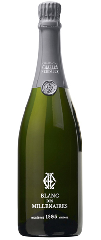 Champagne Charles Heidsieck 1995 Blanc des Millénaires has aromas of dried fruit and nuts