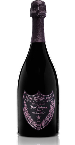 Champagne Dom Pérignon 2004 Rosé Vintage is a full-bodied bubbly with intense aromas of red currant and wild strawberry