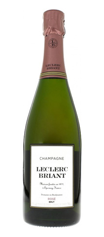 Champagne Leclerc Briant Brut Rosé has aromas of orange, cherry and apricot