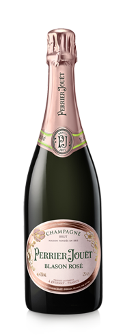 Champagne Perrier-Jouët Blason Rosé offers aromas of ripe strawberry and raspberry