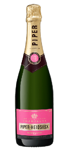 Champagne Piper-Heidsieck Rosé Sauvage has rich and expressive fruit aromas