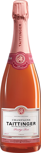 Champagne Taittinger Prestige Rosé offers a vibrant palate of raspberry, cherry and black currant