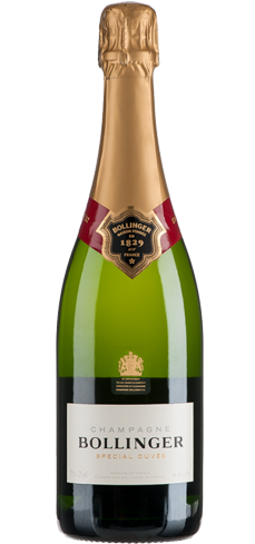 Bollinger Special Cuvée has flavors of roasted apple, peaches and walnuts