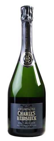 Champagne Charles Heidsieck Brut Reserve is an elegantly textured wine