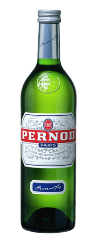 Pernod is an anise-based aperitif