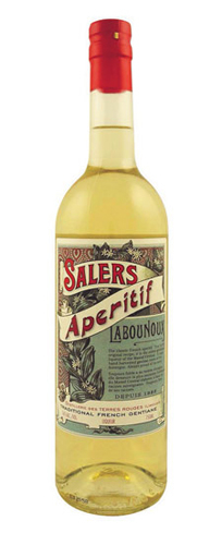 Salers Apéritif La Bounoux is one of the oldest gentiane liqueurs