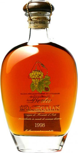 The 1998 Bric del Gaian from Distillerie Berta is among the most aromatic grappas ever made