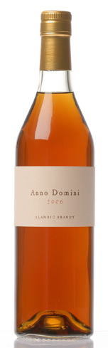 Germain-Robin Anno Domini 2005 Alambic Brandy was released in only 200 bottles
