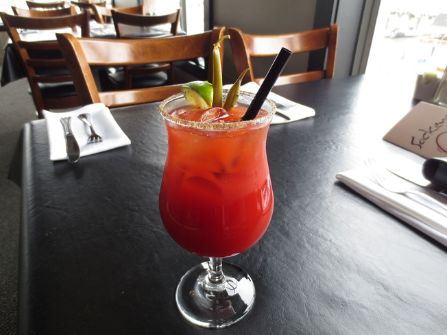 Nothing's better to cure a hangover than the classic Bloody Mary