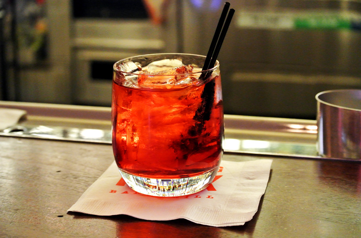 Campari, sweet vermouth and London dry gin: The Negroni is the perfect amount of bitterness