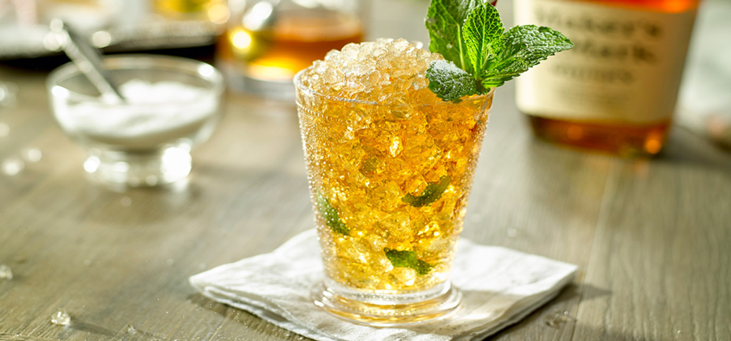 Drink like you're at the Kentucky Derby anytime of the year with a delicious mint julep