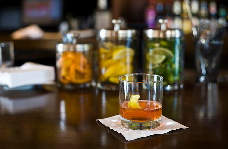 Made with absinthe and rye whiskey, Sazerac epitomizes New Orleans' wild history
