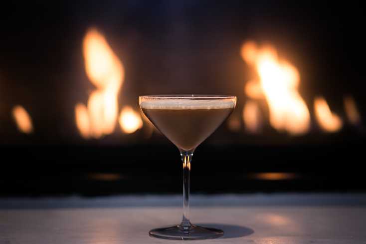 Perk up with an Espresso Martini, the perfect post-meal drink
