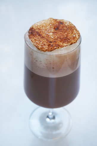 This adult-version of hot chocolate is from Avec Nous at the Viceroy L'Ermitage Beverly Hills