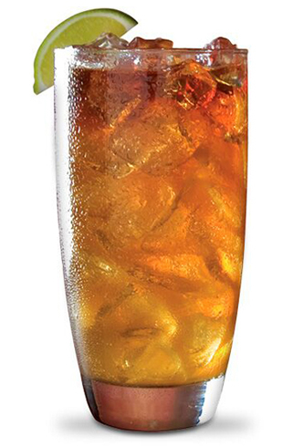 Gosling's Dark 'N Stormy is delicious and easy to make