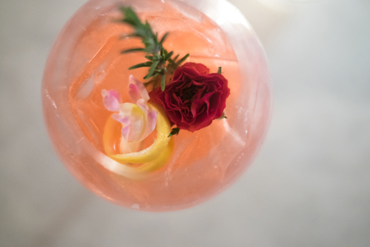 No need for a bouquet of flowers when you have this gorgeous drink