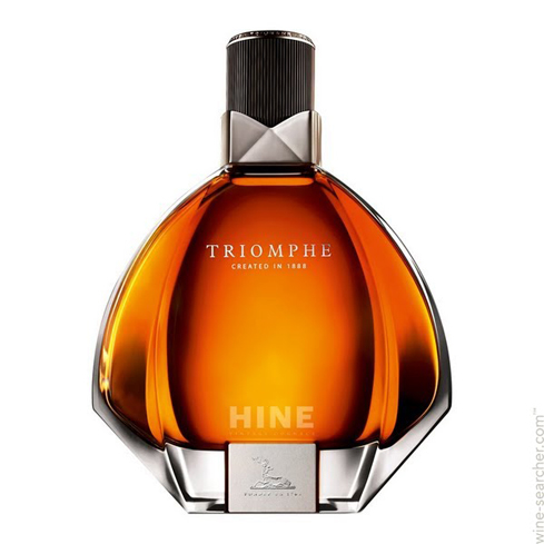 Hine Triomphe Cognac is a blend of 50 old cognacs exclusively from Grande Champagne