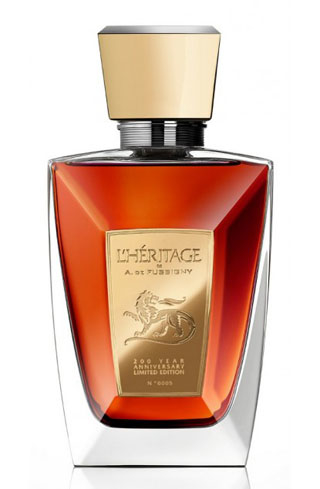 A. de Fussigny L'Heritage features flavors of toasted almond and candied fruits